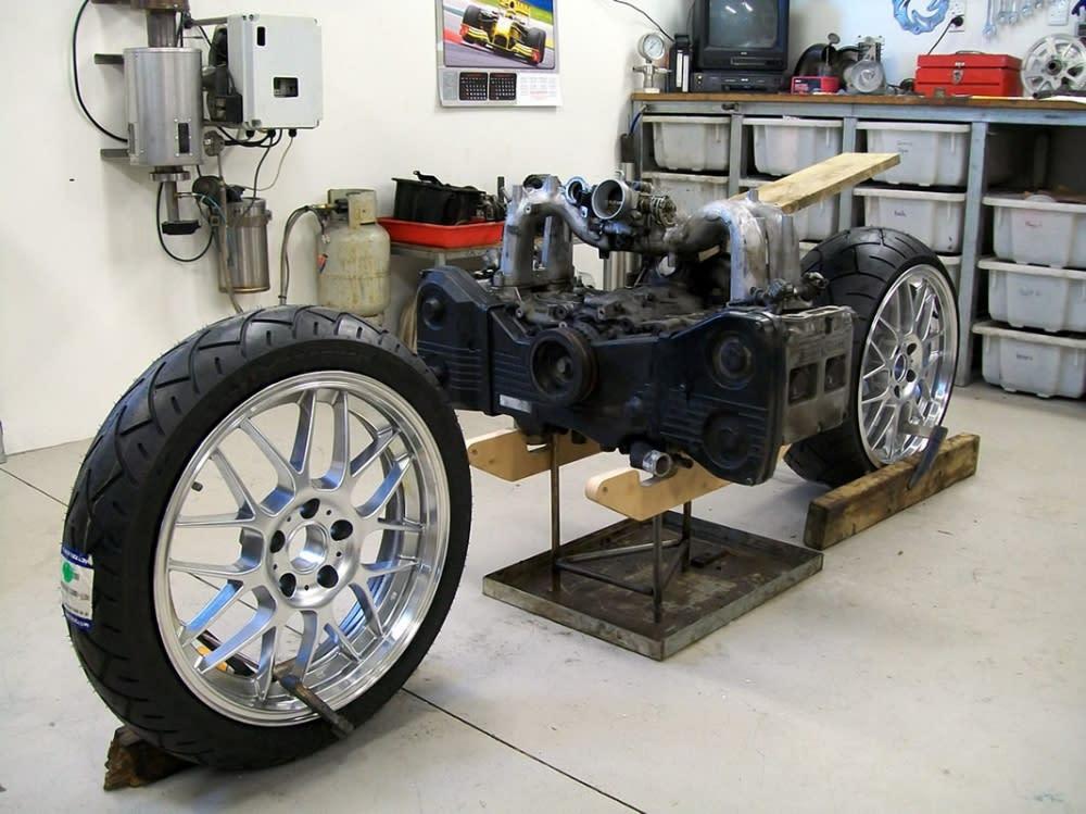 SUBARU當家拉力冠軍車種WRX所搭載那具強而有力卻又無比精密的2.5升旗艦引擎。