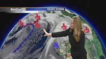 Tuesday: still sunny with storm on the way
