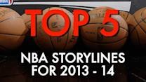 Top 5 NBA storylines for 2013-14