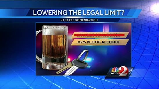 Lower intoxication limit could lead to more DUI arrests