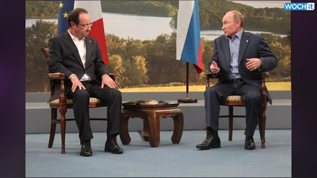 France's President Announces Split With His Companion