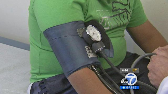 Hypertension dangers lurking in obese kids