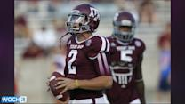 A&M QB Manziel Injured