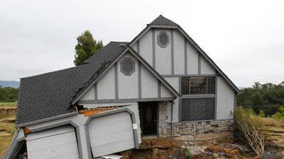 One by One, Homes in Calif. Subdivision Sinking