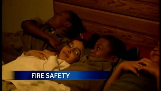 Firefighters create unique fire safety class