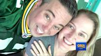 Green Bay Super Fan Engaged to Marie Packer Says It's a 'No Brainer' to Take Future Wife's Last Name