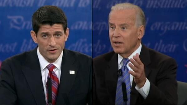 Biden, Ryan come out swinging at VP debate