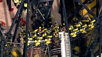 Raw: Multiple Injuries in UK Rollercoaster Crash