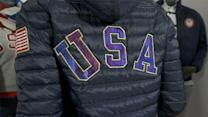 Team USA jacket's flashy look