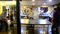 Ping - Pong After Party on Set!
