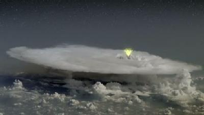 Do Thunderstorms Create Antimatter?