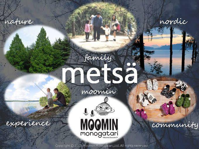 東京近郊Moomin公園「Metsa」