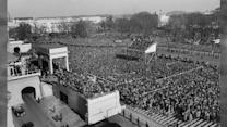 Crowds at Presidential Inaugurations Through the Years