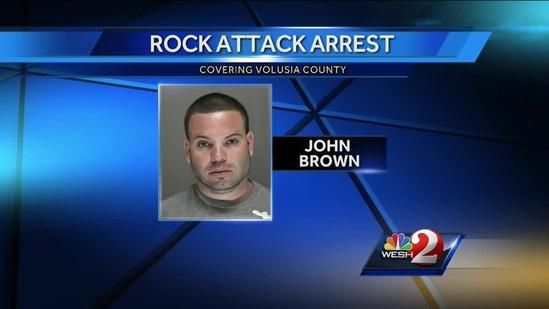 Man accused of threatening couple after arrest