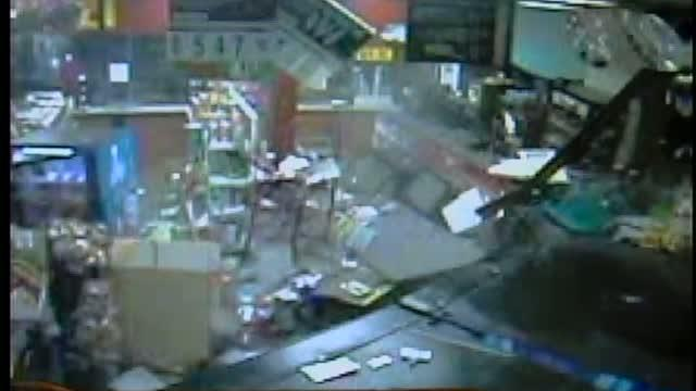 Robbers target gas station ATM