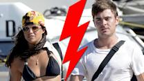 Michelle Rodriguez Breaks Up With Zac Efron in Ibiza?!