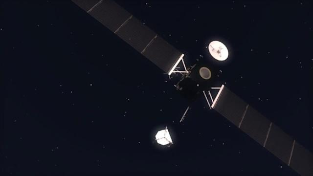 Comet-chasing space probe
