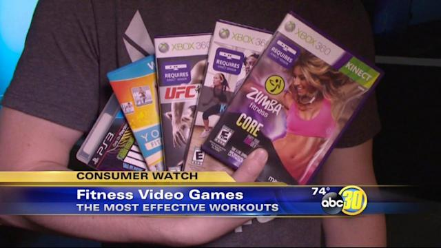 The skinny on fitness video games