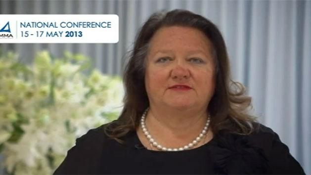 Miners not ATM for government: Rinehart