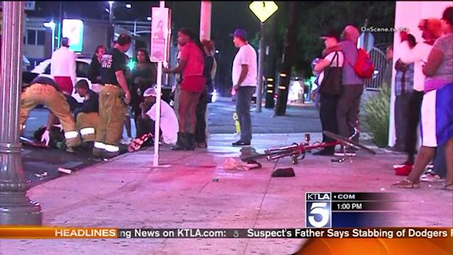 Pedestrian Killed by Hit-and-Run Driver in Hollywood