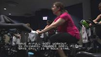 Brain surgery lets woman with dystonia 'fly' at Flywheel Chicago