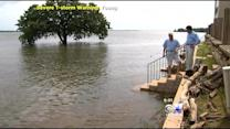 Lake Lewisville Creeping Closer And Closer To Homes