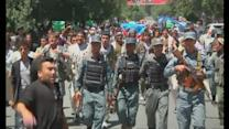 Protesters rally in Kabul over Afghan election fraud