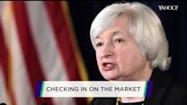 Why the market slid after Janet Yellen spoke