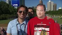 Blackhawks fans to flood Hutchinson Field for the rally