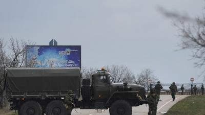 Ukraine Says Russia Moves in on Airports, Base