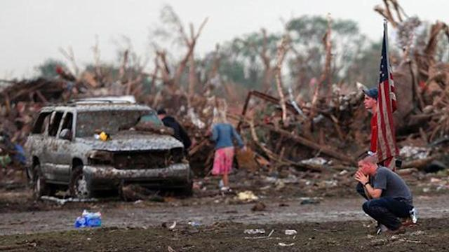 Local man recalls living in Moore, Okla.