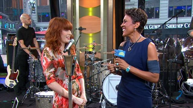 Florence Welch of Florence and the Machine Discusses Voice Ailment
