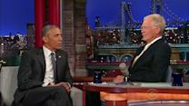 Obama among last Letterman guests
