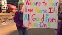 Real-life Extreme Home Makeover for Sandy-hit family