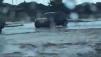 Flash Floods Block Lubbock Roads