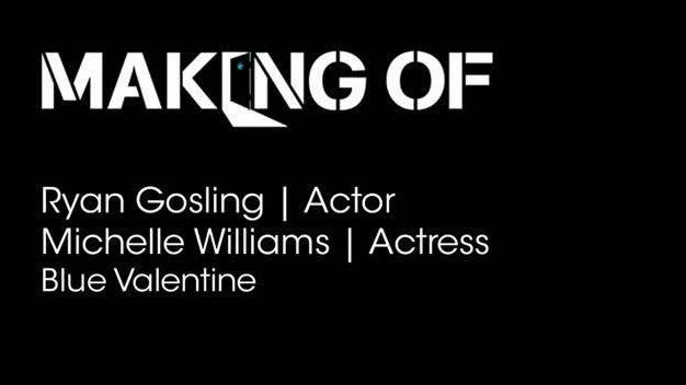 Ryan Gosling and Michelle Williams on acting together