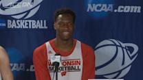 March Madness: Wisconsin Badger Nigel Hayes Whispers a Little Too Loudly