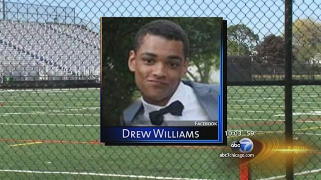 Lane Tech football player Drew Williams remains in intensive care