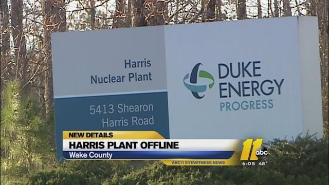 Alert terminated at Harris Nuclear Power Plant