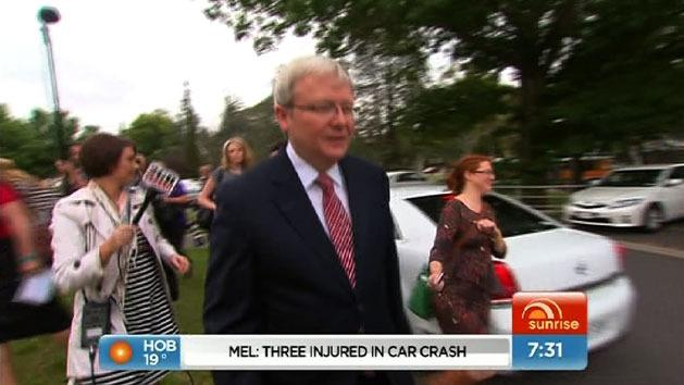 Rudd reveals leadership turmoil