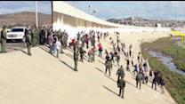 Border Agents Attacked At The Tijuana River Channel