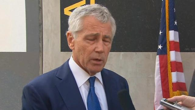 Hagel discusses French request for assistance in CAR