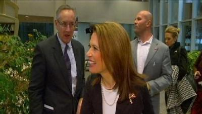 Bachmann Ramps Up Rhetoric Against Opponents