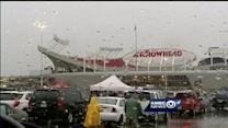 Storms delay start of Kenny Chesney concert