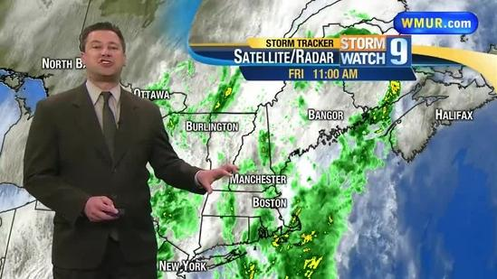 More rain expected into weekend