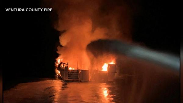 33 bodies recovered following dive-boat fire, 1 missing