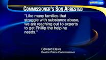 Son of Boston Police commissioner arrested in NH, charged with OUI