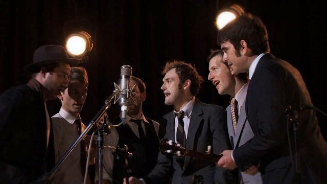 The Punch Brothers, Marcus Mumford sing