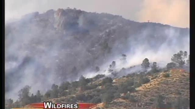 Kern County Wildfires Scorch Thousands Of Acres