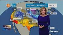 Winter weather spreads across Midwest